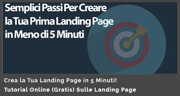 landing page imprenditore